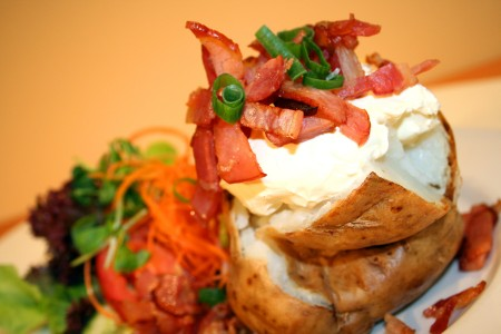 Bacon Jacket Potato