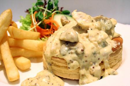 Chicken Mushroom Vol-au-vent