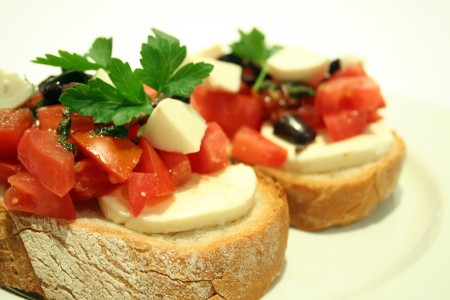 Tomato Bruscutta